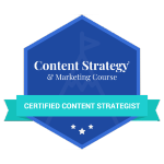 Certified Content Strategist