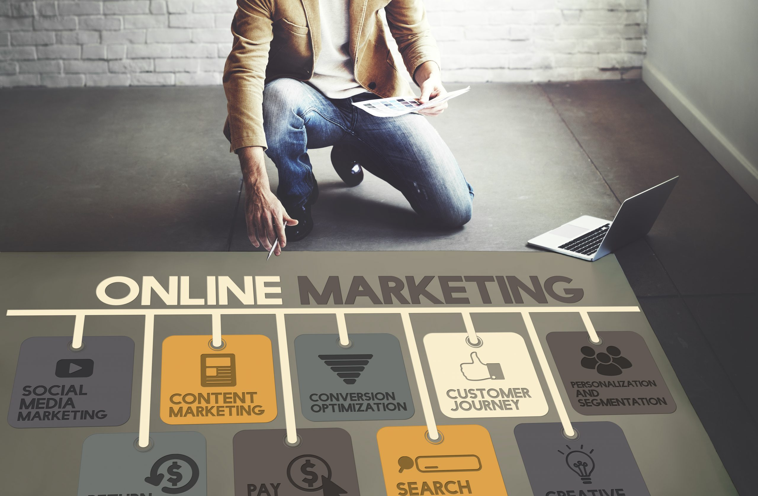 Online Marketing Floor